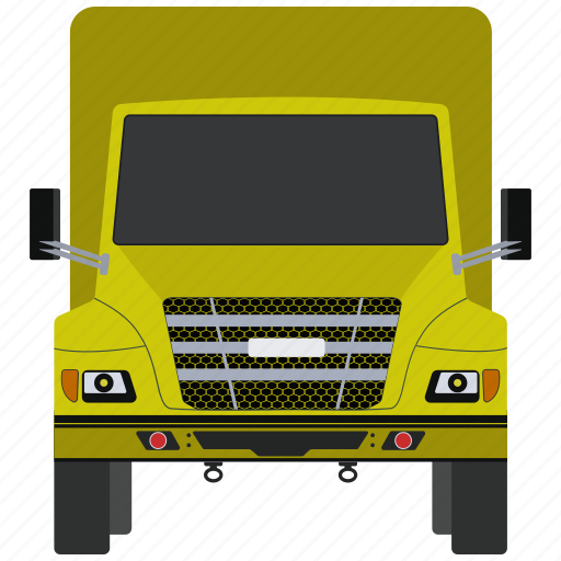 construction, dump, truck, vehivele icon