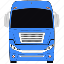 bus, transport, vehicle