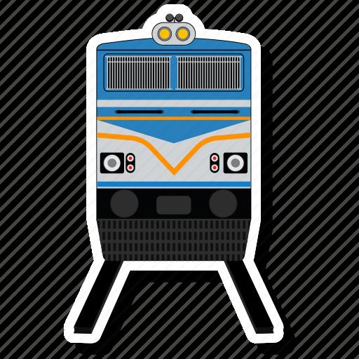 railway, train, transport, vehical icon