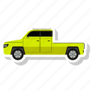 city, dump, garbage, truck icon