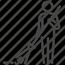 dustman, keeper, scavenger, sweep, sweeper, trash