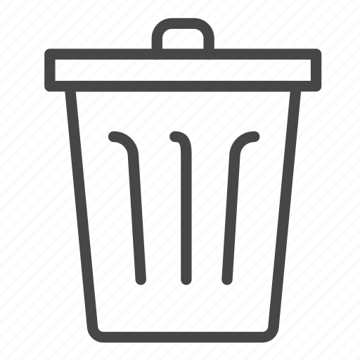 bin, garbage, trash, waste icon