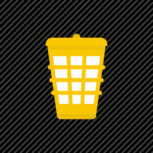 basket, bin, garbage, recycle, rubbish, trash, waste icon