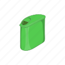 can, cartoon, container, lid, sign, trash, waste icon