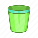 can, cartoon, empty, garbage, recycle, sign, trash icon