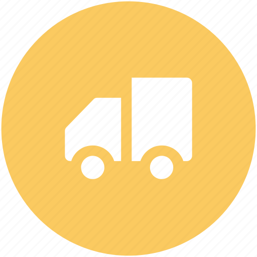 delivery truck, delivery van, hatchback, pick up van, shipping van, vehicle icon