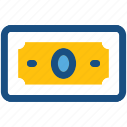 banknote, cash, currency, currency note, money icon