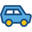 automobile, travel, journey, transport, car icon