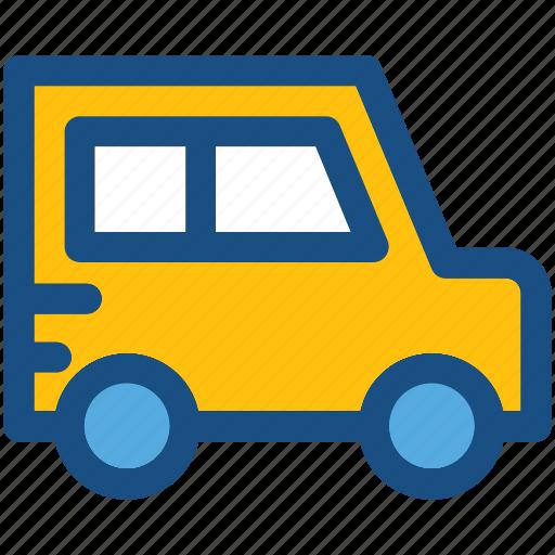 coach, mini bus, transport, van, vehicle icon