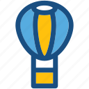 skydiving, air balloon, hot air balloon, air travel, parachute balloon icon