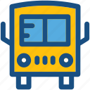 bus, travel, public bus, transport, vehicle icon