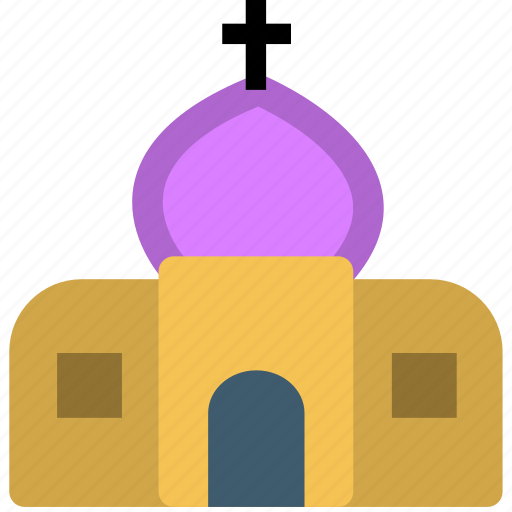 camping, church, tourism, travel, vacation icon