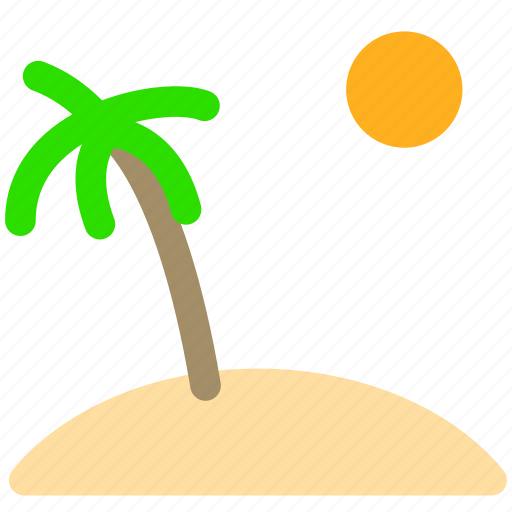 beach, holiday, summer, tourism, travel, trip, vacation icon