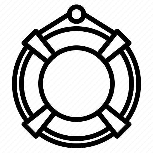 Lifebuoy, rescue, safety icon - Download on Iconfinder
