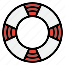 alert, life, rest, ring, summer, travel icon