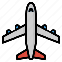 airplane, flight, transportation, travel icon