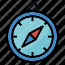 compass, direction, gps, locatio, navigation icon
