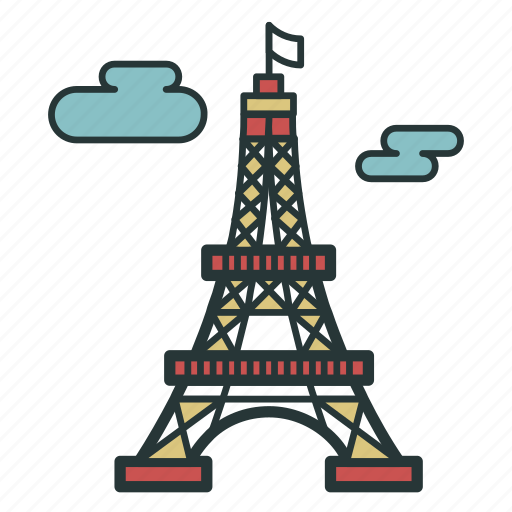 building, buildings, eiffel, france, paris, real, tower icon