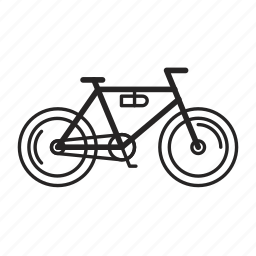 bicycle, bike, transport, transportation, travel icon