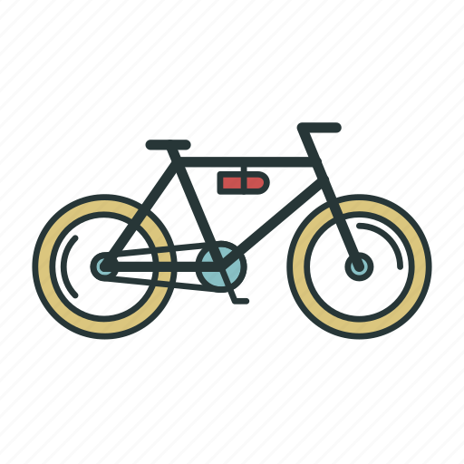 bicycle, bike, transport, transportation, travel icon