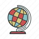 earth, global, globe, globus, planet, round, world icon