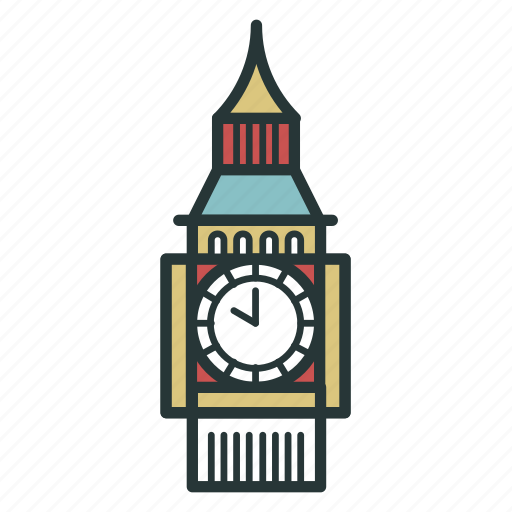 ben, big, clock, england, london, time, watch icon