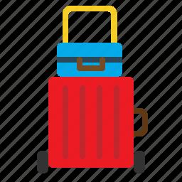 bag, baggage, briefcase, case, luggage, suitcase icon