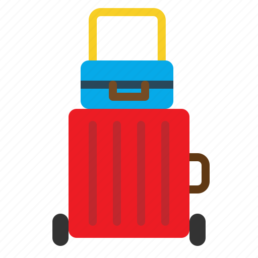 bag, baggage, briefcase, case, luggage, suitcase icon
