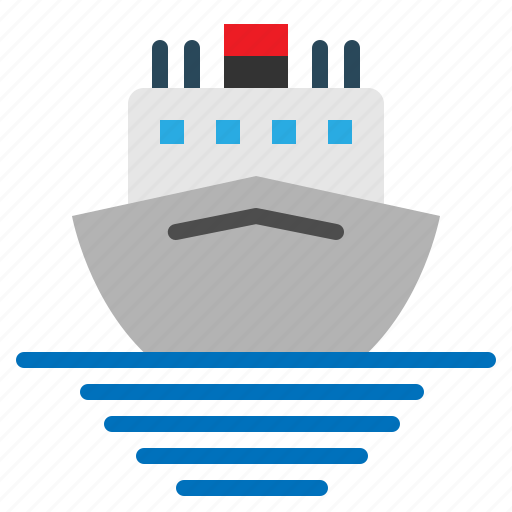 Boat, cruise, sea, ship, tour, travel icon - Download on Iconfinder