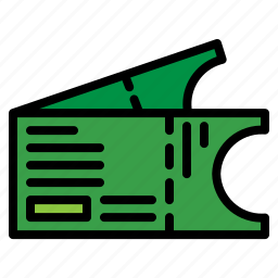 admission, entry, pass, ticket icon