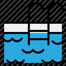 diving, pool, sports, swim, swimingpool, swimming, water icon