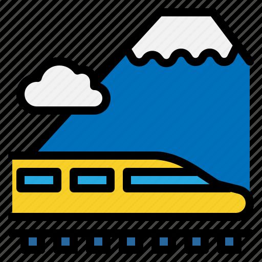 railroad, train, tram, transport, tunnel icon