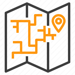 holiday, landmark, location, map, travel, trip, vacation icon