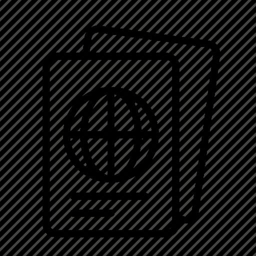 pass, visitorport icon