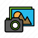 photo, travel, trip icon