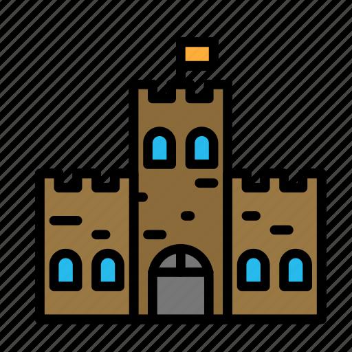 citadel, defense, rock icon