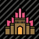 church, moschey, muslim, pray icon