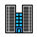 breakcity, cityscape, office icon