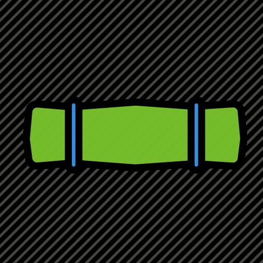 airtrip, sleepbag, travel, trip icon