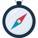 compass, navigate, tourism, travel, vacation icon