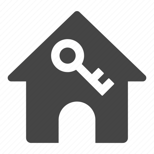 access, home, hotel, house, key, rental icon