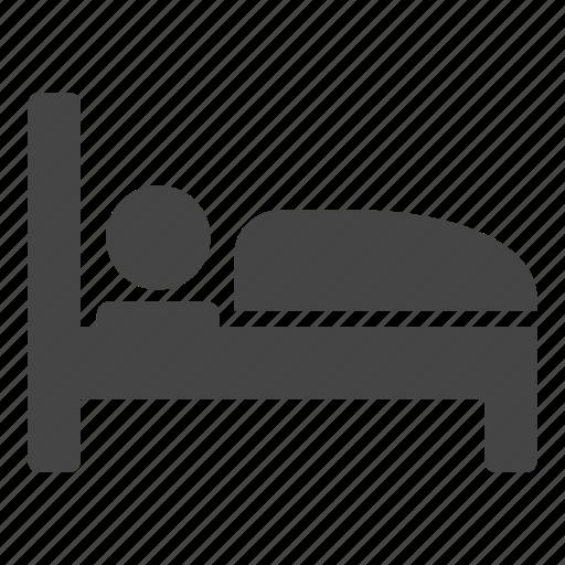 bed, dream, hotel, night, rest, sleep, sleeping icon