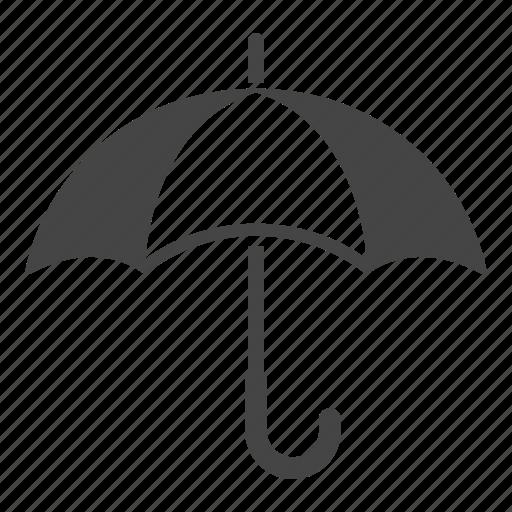 Beach, protection, sunny, rain, umbrella icon