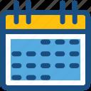calendar, date, day, schedule, timeframe
