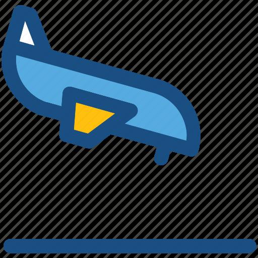 aircraft landing, airplane, airport, flight phase, plane landing icon