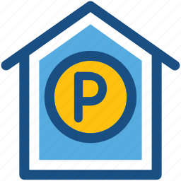 car garage, car porch, garage, garage service, parking icon