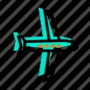 plane, travel, trip, vacations icon