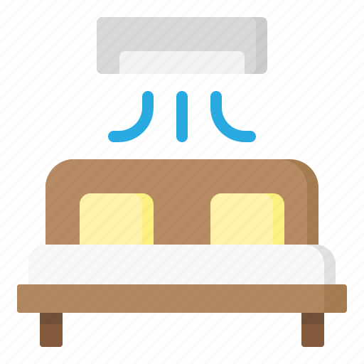 bed, double, furniture, sleep, travel icon