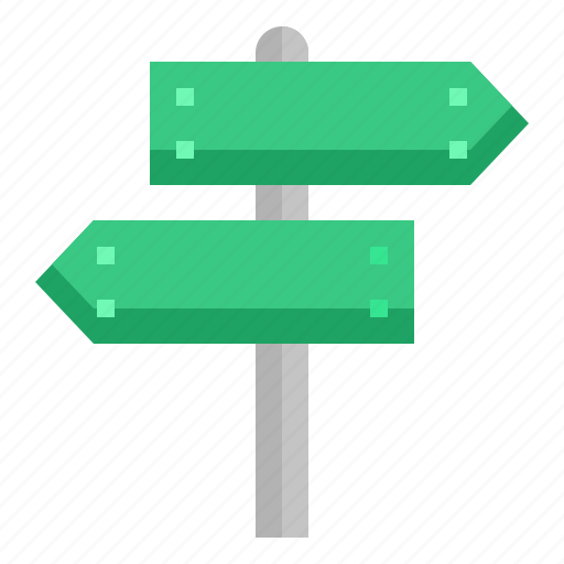 Direction, post, road, sign, signpost icon - Download on Iconfinder