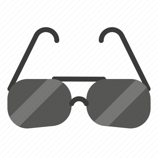 beach, glasses, summer, sun, travel icon
